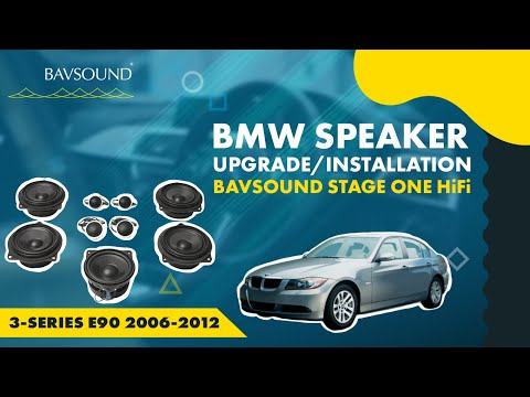 BAVSOUND Stage I Install Guide for 3-Series E90 2006-2012 - Base Audio System