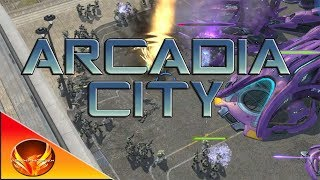 Halo Wars: Definitive Edition - Legendary Walkthrough - Mission #4: Arcadia City (ODST Strategy)