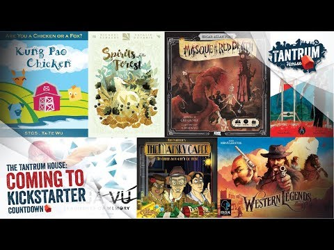Upcoming Board Games Kickstarter January 1-15. 2018
