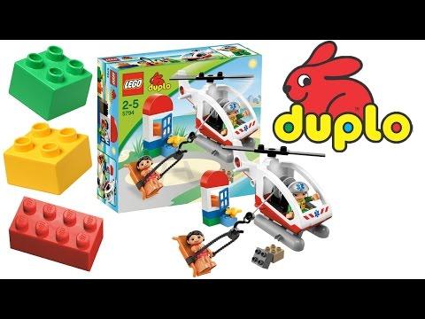 Вертолет Lego Duplo - Игры c Лего для детей - Интересные игрушки