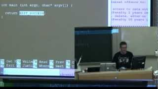 lec 4 - compiling, ...eventually - Richard Buckland UNSW Computing 1 (draft)