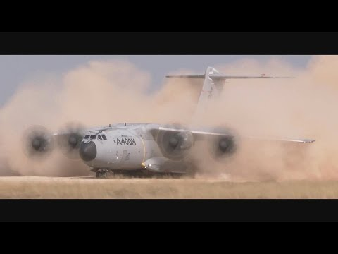 Airbus Group - A400M Heavy Airlifter Completed Unpaved Runway Trials [1080p]