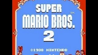 Super Mario Bros 2/USA (NES/Wii U Virtual Console) Gameplay