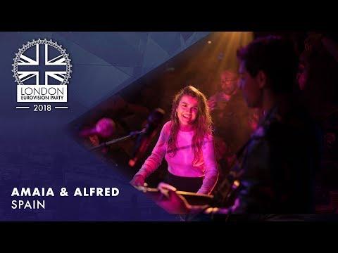 Amaia y Alfred - Tu Canción - Spain | LIVE | OFFICIAL | 2018 London Eurovision Party
