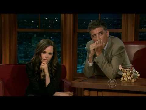Ellen Page on Craig Ferguson - 7/16/10