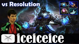 iceiceice - Zeus Offlane | vs Resolution (Lifestealer) | Dota 2 Pro MMR Gameplay