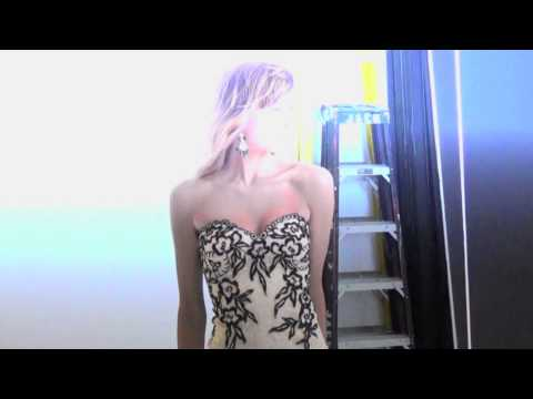 Behind the Scenes: Aliana Lohan for Camille La Vie Fall 2013 Dresses Collection