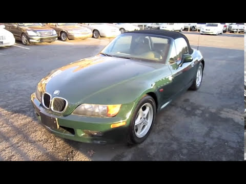 1998 BMW Z3 Roadster 5 spd Start Up, Engine, and In Depth Tour