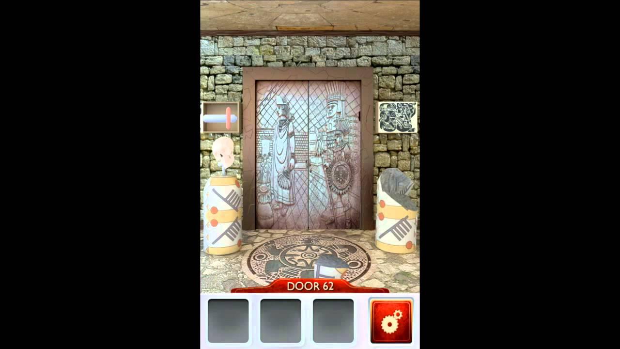 100 doors 2 level 62 walkthrough youtube for 100 doors door 62