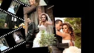 شاهدي صور العروسين قمر خلف ومهيار خضور زواج الفنانين قمر خلف ومهيار خضور