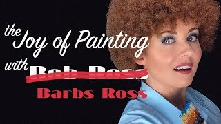 The Joy of Painting w/Barbs Ross | ASMR