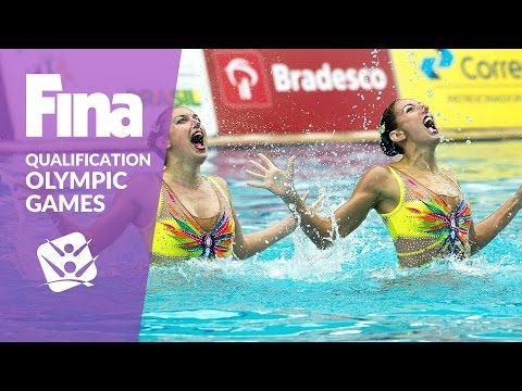 Re-Live: Duet Free - FINA Synchronised Swimming Olympic Games Qualification - Rio De Janeiro