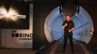 "Inside the Tunnel That Elon Musk Hopes Will Solve 'Soul-Destroying"" Traffic"