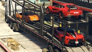 Gta 5 Ferrari Delivery - Michael