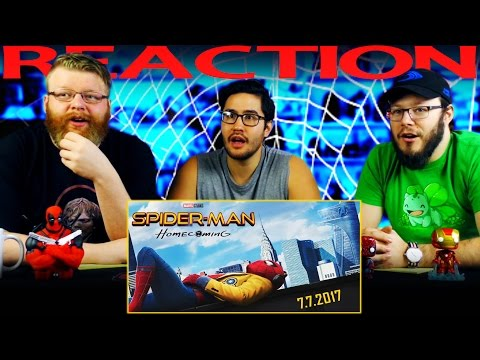 Spider-Man Homecoming Trailer #2 REACTION!!