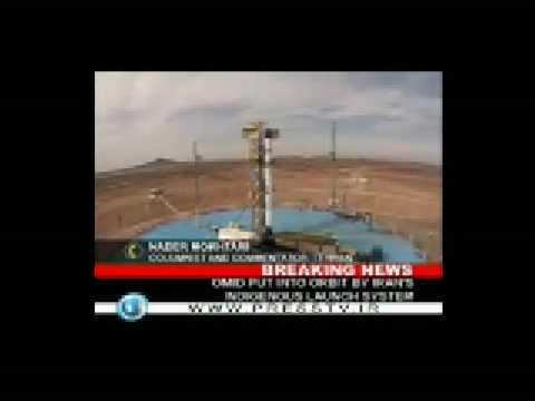 Iran Launches its First home-made Satellite (omid) into orbit - 2 Feb 2009 -p2- Presstv reports