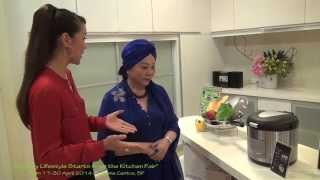 La gourmet Thermal Wonder Cooker Recipe by Carol Lee Mrs Universe 2013 & Jean Yeap 1/7
