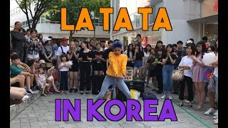 [Busking In Korea] (G)I-dle - LATATA | Kpop Public Dance Challenge