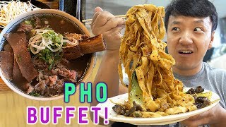 All You Can Eat PHO NOODLE SOUP?! & Week in Palm Springs