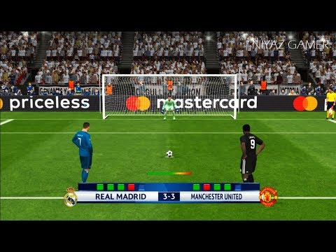 REAL MADRID vs MANCHESTER UNITED | Penalty Shootout | PES 2017 Gameplay