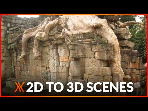Convert 2D photos into 3D scenes