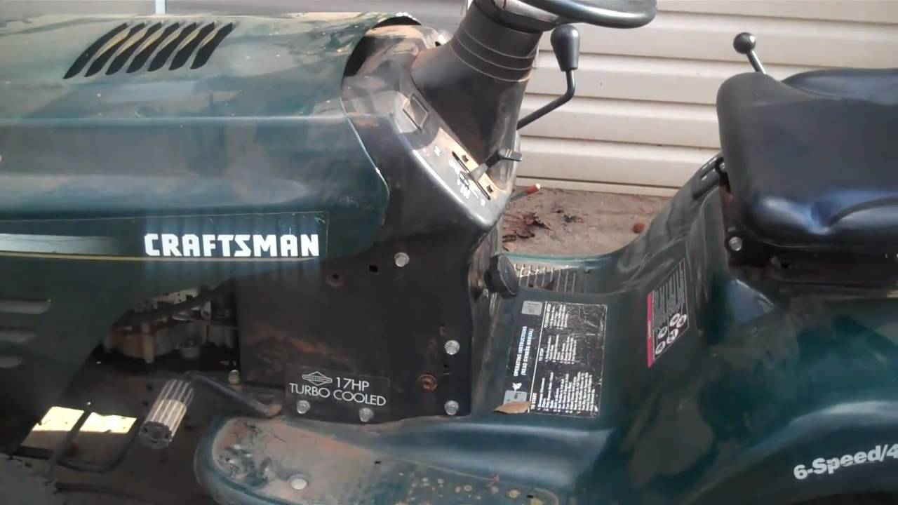 Craftsman Peerless Transaxle Problem - 2  27  11