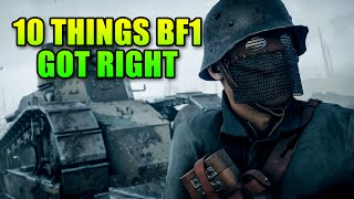 10 Things Battlefield 1 Got Right | BF1 Alpha Gameplay