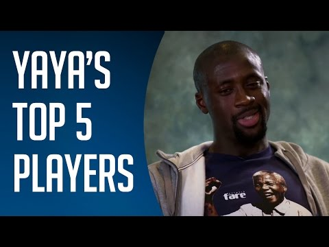 Yaya Toure's top five players in the world