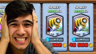 FINALMENTE CONSEGUI O SPARKY!!!!!!!
