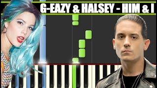 Download Lagu HIM & I (G-Eazy & Halsey) Piano Tutorial / Cover SYNTHESIA + MIDI & SHEETS Gratis STAFABAND