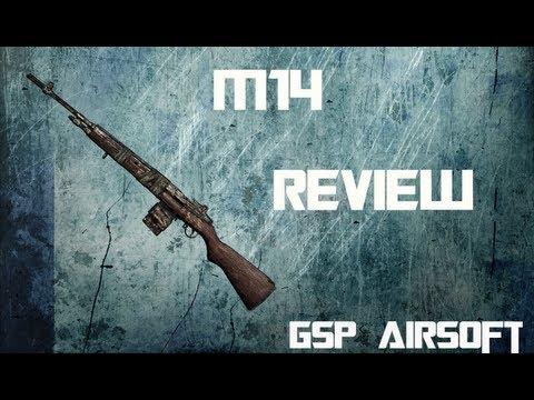 CYMA M14 Softair Review (GsP Airsoft) GERMAN