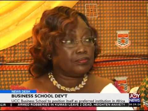Business school  development - News Desk on Joy News (24-5-16)