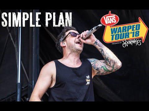 Simple Plan Live at Vans Warped Tour 2018 - Pomona, CA [Full Concert] [HD]