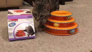 Petstages Tower Of Track Interactive Toy For Cats