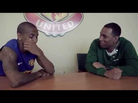Ashley Young interview at Manchester United's training ground (2012)