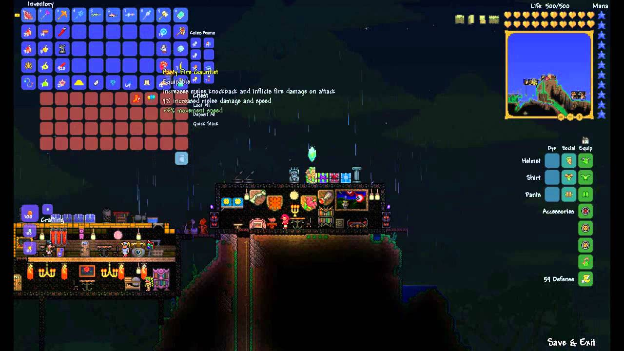 Terraria Best Magic Build
