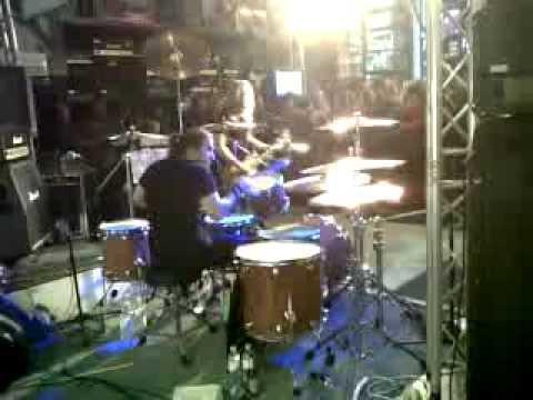 Brian Tichy and Doug Aldrich at Nevada Music 1