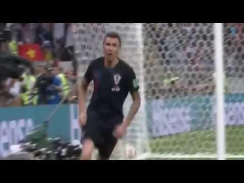 Mandzukic goal - Croatia vs England 2-1 World Cup 11.07.2018. thumbnail
