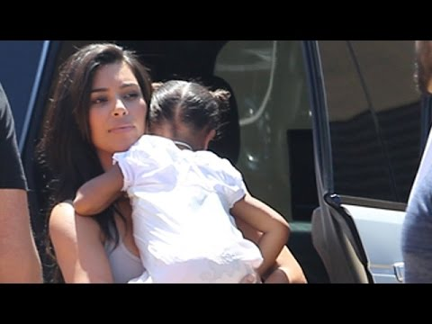 Kim Kardashian Takes Kanye West To Father's Day Brunch At Nobu