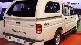 महिन्द्रा इंडिया में ला सकती है अपनी mahindra goa Barcelona Pickup!