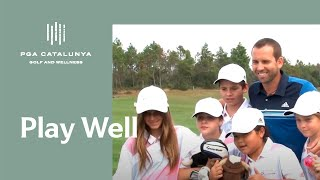 Sergio Garcia Junior Academy - PGA Catalunya Resort. Launch Event. (Official video)