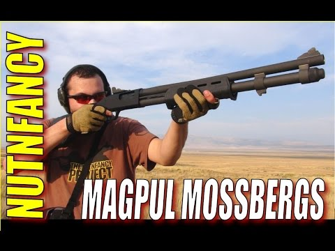 Magpul Mossberg 500/590s: Full Review by Nutnfancy