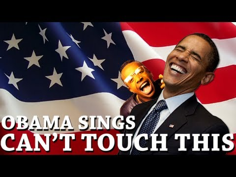 Barack Obama Singing Can t Touch This by MC Hammer
