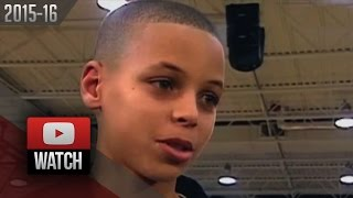 "Dell Curry ""Growing Up Steph"""