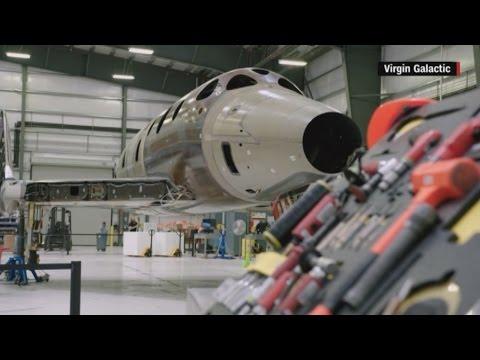 Virgin Galactic unveils new space tourism rocket plane