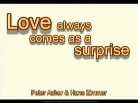 Love Always Comes As A Surprise - Peter Asher