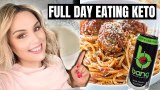 FULL DAY OF EATING LAZY KETO / WHAT I EAT TO LOSE WEIGHT 2020 / EASY KETO RECIPES / DANIELA DIARIES