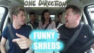 One Direction Carpool Karaoke (GIRL VERSION) Shreds