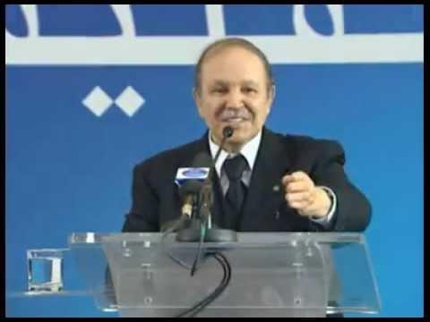 Abdelaziz Bouteflika Meeting Populaire dans les Wilayas d' OUM EL BOUAGHI et TEBESSA