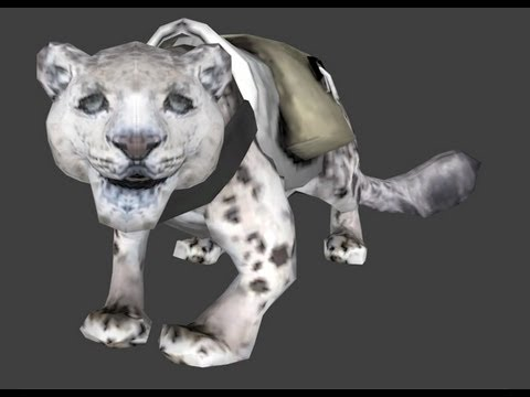 DOTA 2 Store Cosmetic Item Preview - Snow Leopard Courier, etc